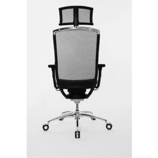 Wagner Bürostuhl Titan 10 mit Kopfstütze und Dondola Sitzgelenk