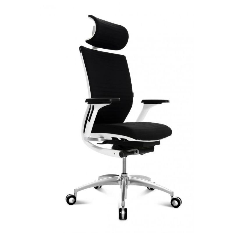 Wagner Bürostuhl Titan 20 mit Kopfstütze und Dondola Sitzgelenk