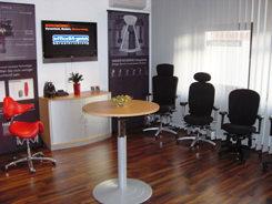 Unser Bürostuhl Showroom in Darmstadt